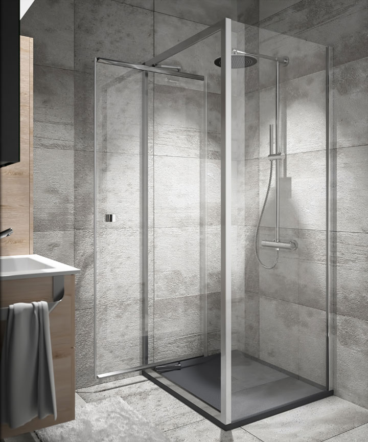 Mampara3 espacio hogar - Mampara de bano ...